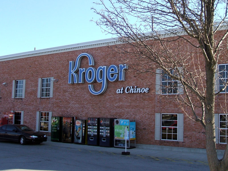 Kroger at Chinoe, EH Construction